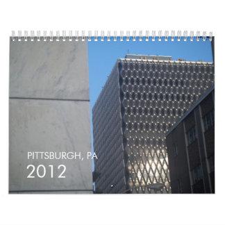 PITTSBURGH, PA 2012 CALENDAR