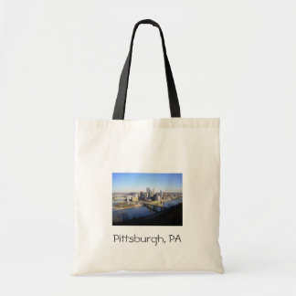 Pittsburgh PA Canvas Bags