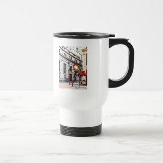 Pittsburgh PA - Corner of Smithfield and Fifth Travel Mug