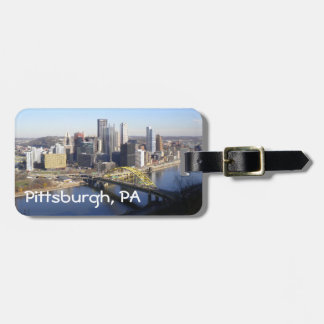 Pittsburgh, PA Etiquetas Para Maletas