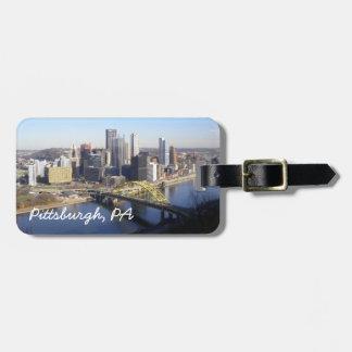 Pittsburgh, PA Etiquetas Bolsas