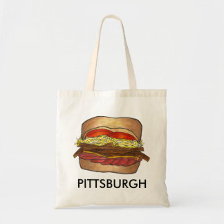 Pittsburgh, PA French Fry Coleslaw Sandwich Tote