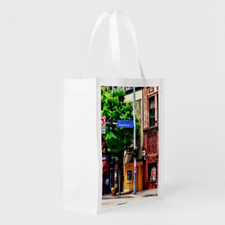 Pittsburgh PA - Liberty Ave and Smithfield Street Grocery Bag