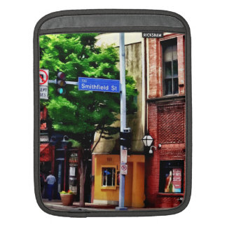 Pittsburgh PA - Liberty Ave and Smithfield Street Sleeve For iPads