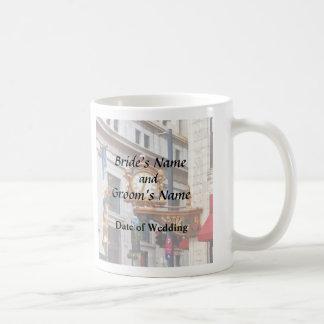 Pittsburgh PA - Meet Me Under the Clock Wedding Coffee Mug