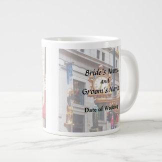 Pittsburgh PA - Meet Me Under the Clock Wedding Large Coffee Mug