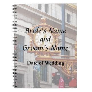 Pittsburgh PA - Meet Me Under the Clock Wedding Notebook