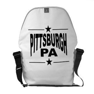 Pittsburgh PA Messenger Bag