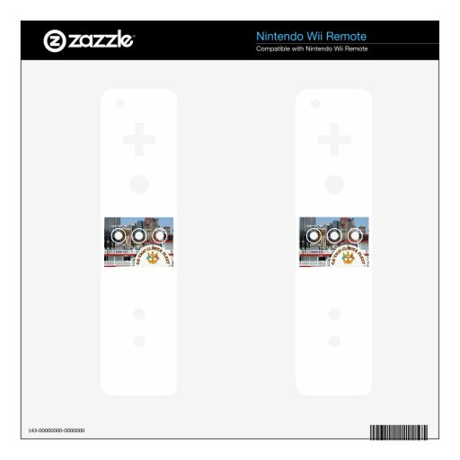 Pittsburgh Pa photography Skin For The Wii Remote