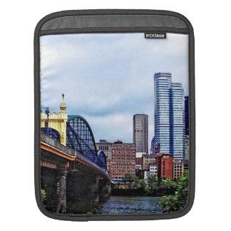 Pittsburgh PA - Pittsburgh Skyline by Smithfield S iPad Sleeves