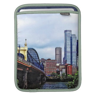 Pittsburgh PA - Pittsburgh Skyline by Smithfield S Sleeves For iPads