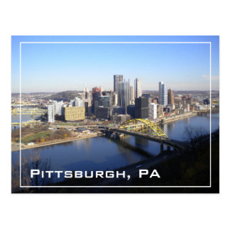 Pittsburgh, PA Postcard