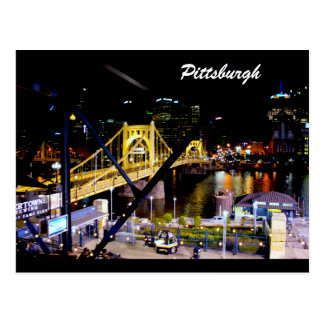- Pittsburgh, PA-Puente-Foto-Postal Postales