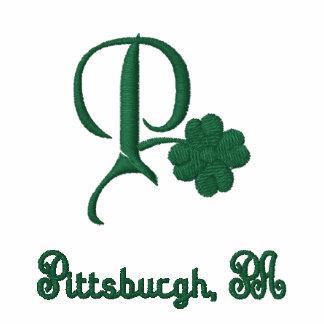 Pittsburgh, PA Shamrock Irish Polo Shirt