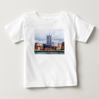 Pittsburgh PA Skyline Baby T-Shirt