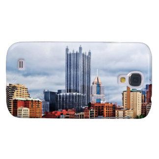 Pittsburgh PA Skyline Samsung Galaxy S4 Cases
