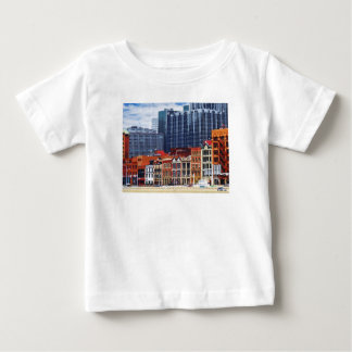 Pittsburgh PA Skyline Closeup Baby T-Shirt