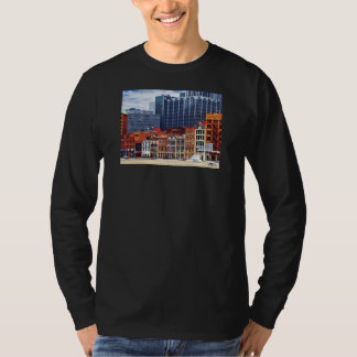 Pittsburgh PA Skyline Closeup T-Shirt