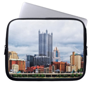 Pittsburgh PA Skyline Laptop Computer Sleeve
