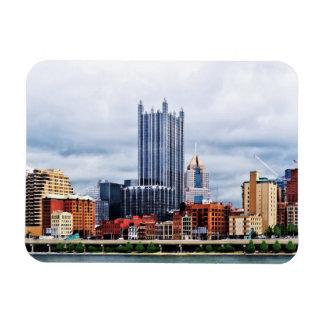 Pittsburgh PA Skyline Rectangular Photo Magnet