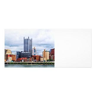 Pittsburgh PA Skyline Rack Card