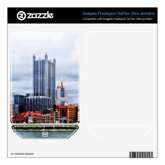 Pittsburgh PA Skyline FreeAgent GoFlex Decal