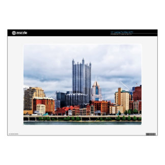 """Pittsburgh PA Skyline 15"""" Laptop Decals"""