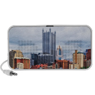 Pittsburgh PA Skyline Travelling Speaker