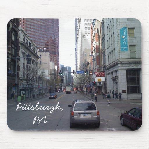 Pittsburgh, PA Tapetes De Ratón