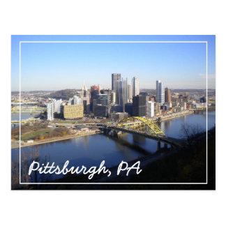 Pittsburgh, PA Tarjeta Postal