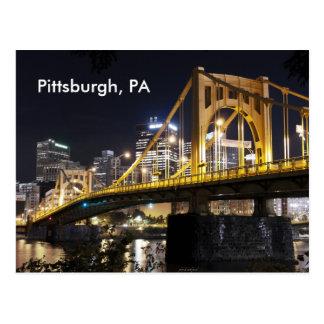 Pittsburgh PA Tarjetas Postales