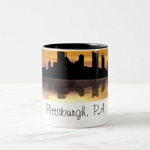 Pittsburgh, PA Tazas