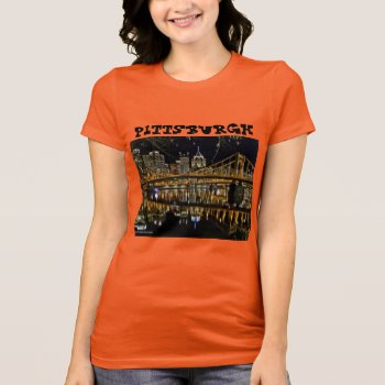 Pittsburgh  Pa Tee Shirt by creativeconceptss at Zazzle