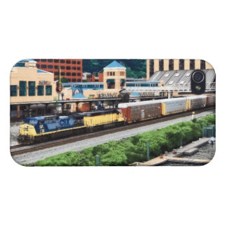 Pittsburgh PA - Train Going By Station Square iPhone 4/4S Case