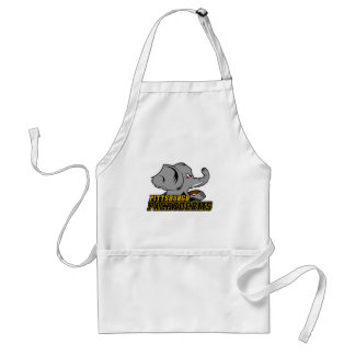 Pittsburgh Pachyderms Store Adult Apron