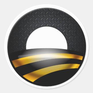Pittsburgh para Obama Etiquetas Redondas