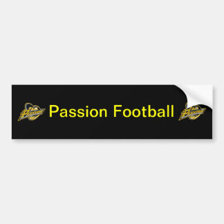 Pittsburgh Passion Bumper Sticker Car Bumper Sticker