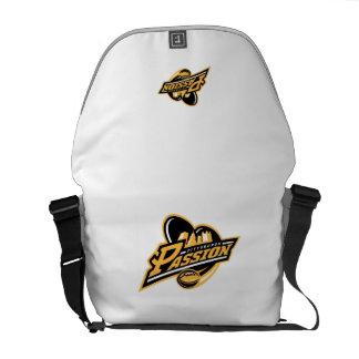 Pittsburgh Passion White Bag