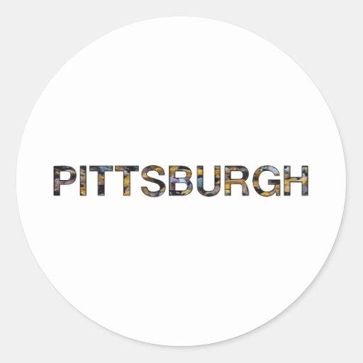 Pittsburgh Pegatinas