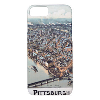 Pittsburgh Pennsylvania 1902 Funda iPhone 7