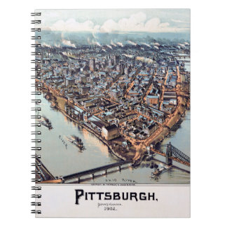 Pittsburgh Pennsylvania 1902 Spiral Note Books