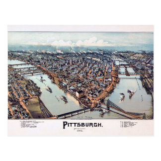 Pittsburgh Pennsylvania 1902 Postcard
