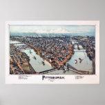 Pittsburgh Pennsylvania 1902 Poster