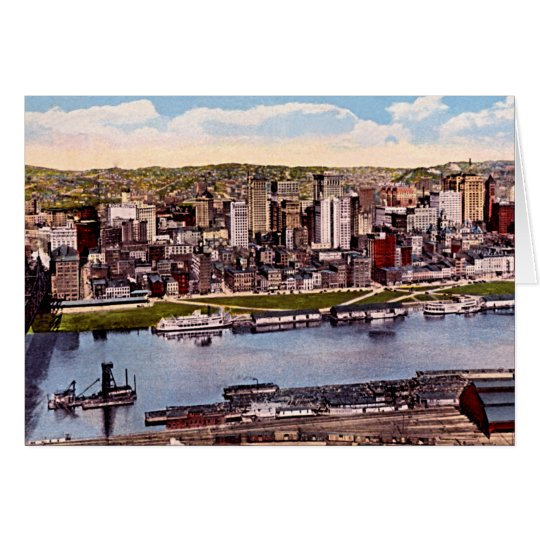 Pittsburgh, Pennsylvania Card
