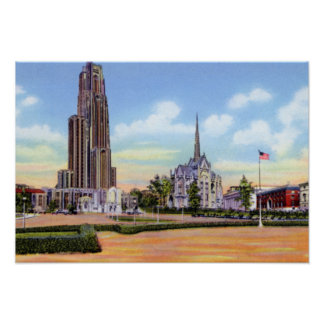 Pittsburgh Pennsylvania Cathedral of Learning Print