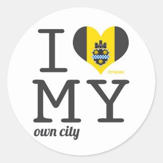 Pittsburgh | Pennsylvania Classic Round Sticker