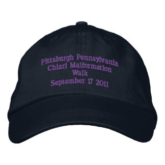 Pittsburgh Pennsylvania Embroidered Hat