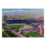 Pittsburgh Pennsylvania Forbes Field Schenley Park Poster