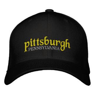 Pittsburgh Pennsylvania New School Embroidered Baseball Cap