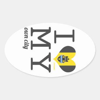 Pittsburgh | Pennsylvania Oval Sticker